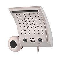 Oxygenics Contour + Speaker 6-Setting Brushed Nickel Shower System