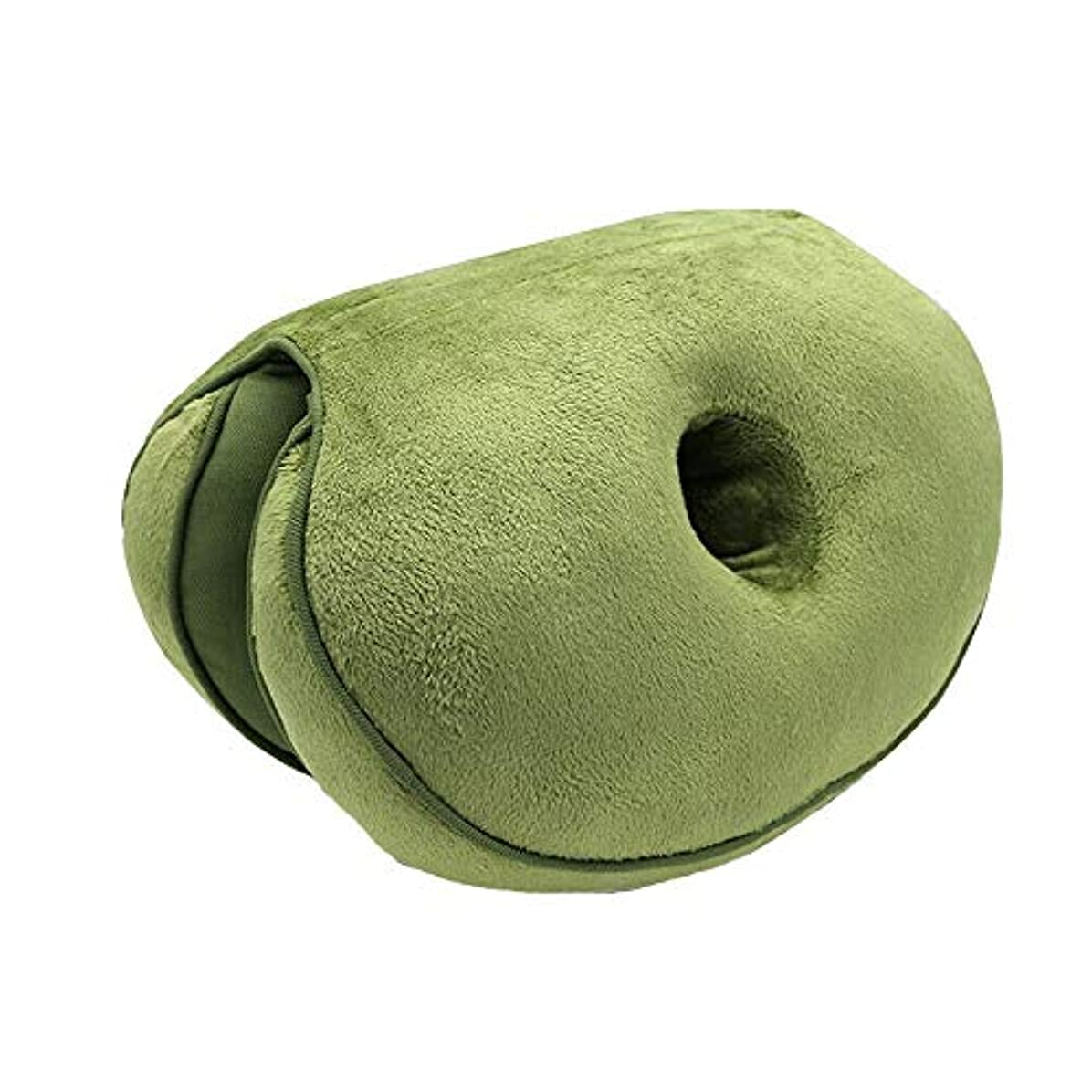 好ましいリラックスした特徴づけるLIFE2019 新デュアルシートクッション低反発ラテックスオフィスチェアバックシートクッション快適な臀部マットパッド枕旅行枕女性女の子クッション 椅子