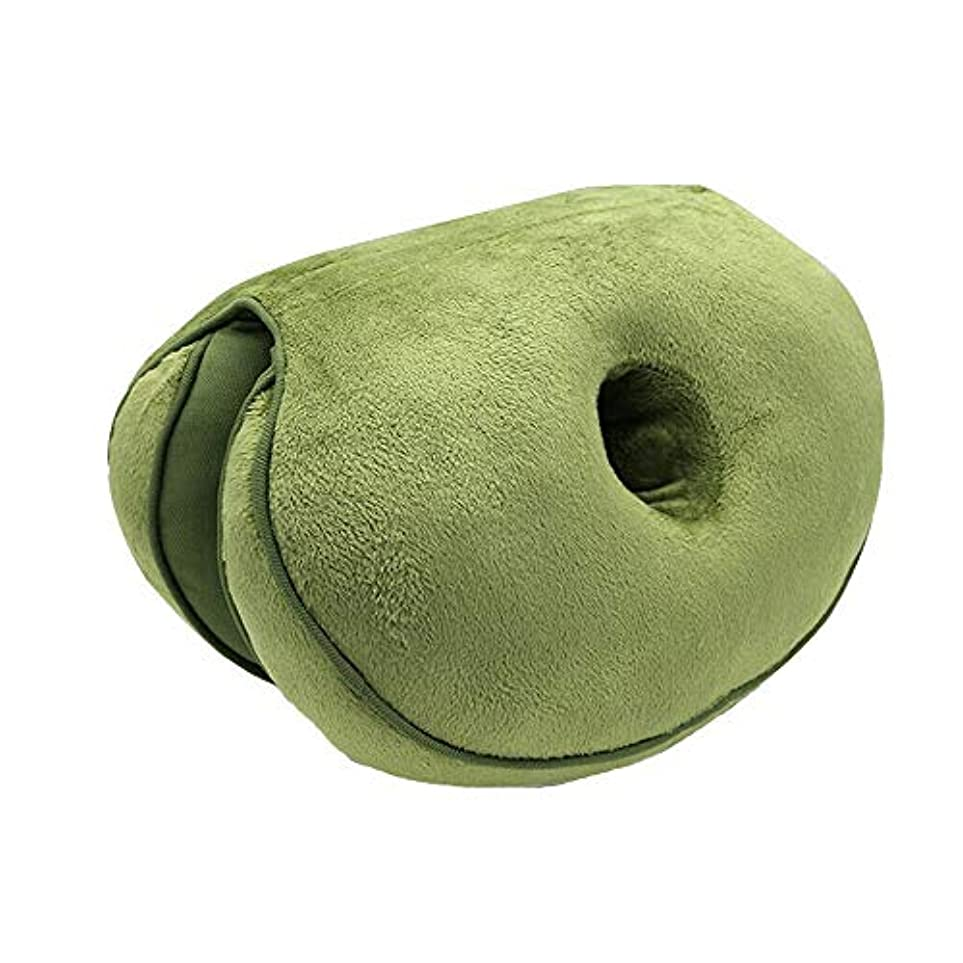 チャンピオンテーブルを設定するずんぐりしたLIFE 新デュアルシートクッション低反発ラテックスオフィスチェアバックシートクッション快適な臀部マットパッド枕旅行枕女性女の子 クッション 椅子