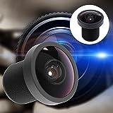 Youtiankai カメラ 2.5mm 170度 広角 M12 スレッドカメラ DVレンズ GoPro用交換品