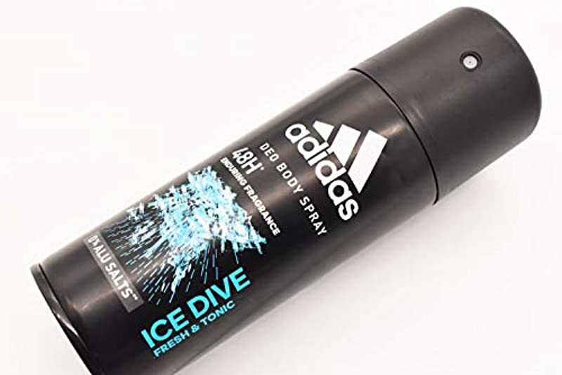 行政整理する除去adidas DEO BODY SPRAY 150ml ICE Dive アディダス デオドラント ボディースプレー 150ml アイスダイブ 制汗剤 48時間持続 日本未発売 並行輸入