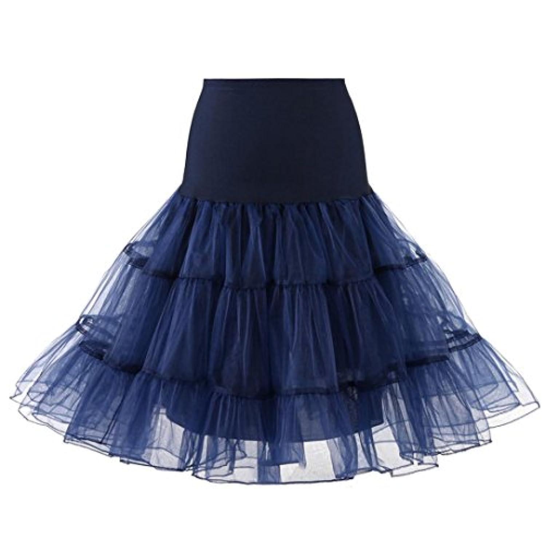 女の子のプリンセスドレス, レディースハイウエストプリーツショートスカートアダルトチュチュダンススカート by TODOYI (L, NY)