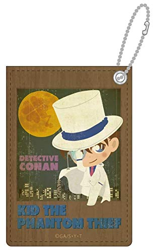 名探偵コナン キッド ビンテージポップパスケース