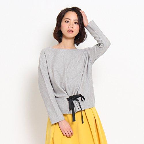 (クチュールブローチ) Couture Brooch 【WEB限定・80%OFF】前リボンコットンプルオーバー 50812221 38(M) グレー(012)