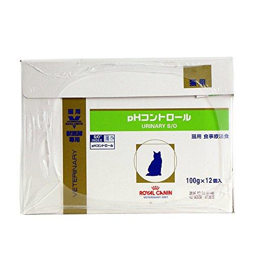 ロイヤルカナン キャットフード pHコントロール パウチ 100g×24