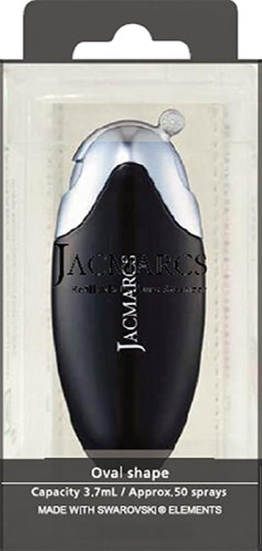 ドループ水っぽいエキサイティングメイクアップ ジャックマルクス パフューム アトマイザー オーバルシェイプ ブラック 23 5.2mL 4517989165232