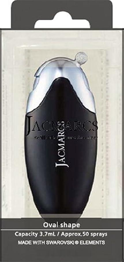 まつげ煙式メイクアップ ジャックマルクス パフューム アトマイザー オーバルシェイプ ブラック 23 5.2mL 4517989165232