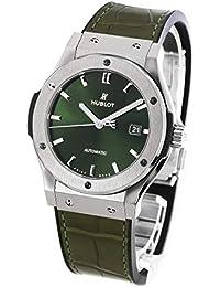 ウブロ クラシック フュージョン チタニウム グリーン アリゲーターレザー 腕時計 メンズ HUBLOT 542.NX.8970.LR[並行輸入品]