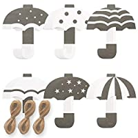 Monolike Garland Umbrella 3p ガランド バナーペーパーバナー 壁装飾 インテリア装飾 ペーパーベナ54枚 ひも5m
