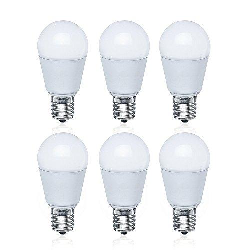 LED電球 E17口金 60W形相当 電球色 550lm 広...
