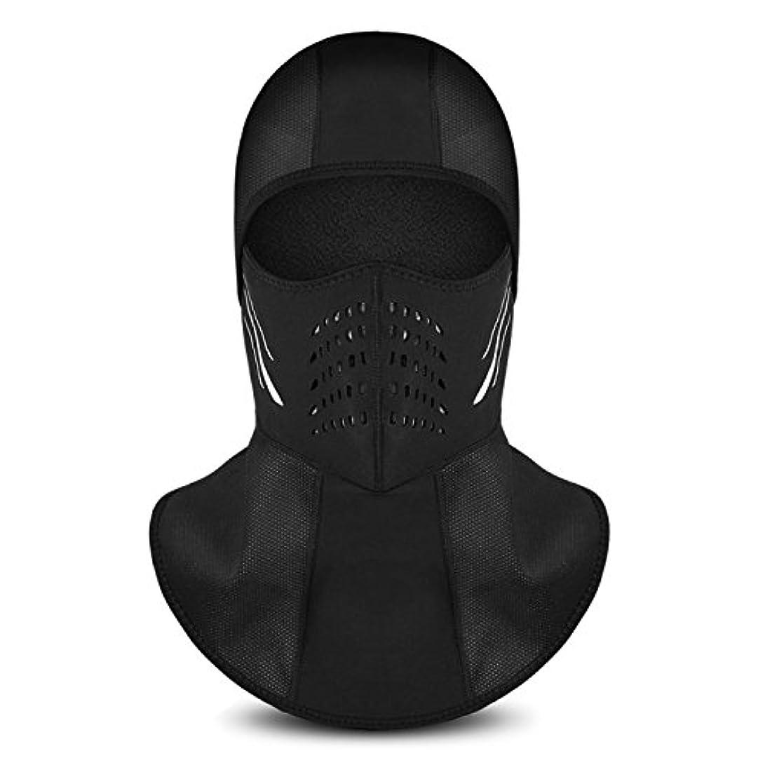 発送記事比較INBIKE(インバイク)マスク 防寒フリースマスク 裏起毛 厚型 ネックウォーマー フェイスガード