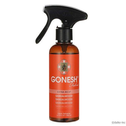 GONESH(ガーネッシュ) ファブリックリフレッシャー サンダルウッド 200ml 衣類用 布製品用 芳香消臭剤 (白檀の香り)