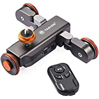 TARION Y5D スライダー 電動式 ワイヤレスドリー 電動ドリー 往復運動でき 充電式 コンパクトデジカメ 一眼レフ ミラーレス スマホ gopro アクションカメラに適用 写真 ビデオ撮影