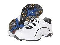 FootJoy(フットジョイ) メンズ 男性用 シューズ 靴 スニーカー 運動靴 FJ Hydrolite Athletic Shoe - White/Black 7.5 W [並行輸入品]