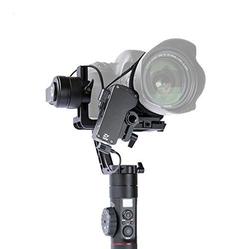 ZHIYUN Crane 2 3軸 カメラスタビライザー カメラ ジンバル 電動 手ブレ ミニ三脚 1/4ネジ穴付き スタビライザー 最長18時間作業可 …