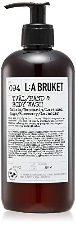 筋蒸発するアレルギー性L:a Bruket (ラ ブルケット) ハンド&ボディウォッシュ (セージ?ローズマリー?ラベンダー) 450g