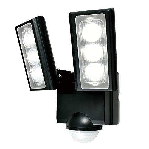 エルパ LEDセンサーライト 乾電池式 2灯 ESL-312DC