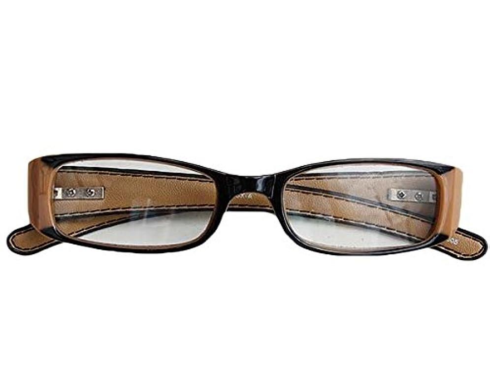 ブルジョン固執お茶老眼鏡 READING GLASSES BEIGE 1.5 YGF43BE/1.5