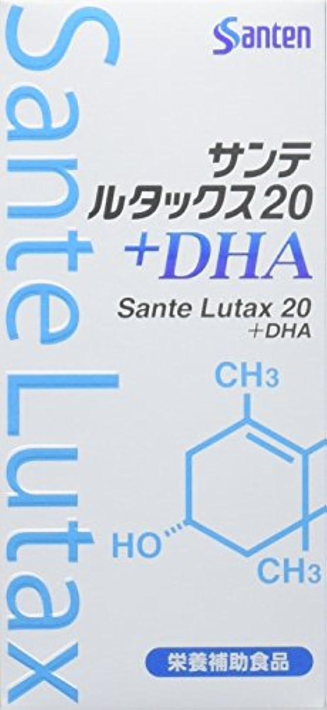 週末立証するあいまいな【3個】サンテ ルタックス20+DHA 60粒×3個 (4987084530035)