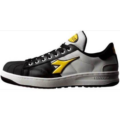 ディアドラ デイアドラ作業靴 黒/黄/白 26.5cm KW...