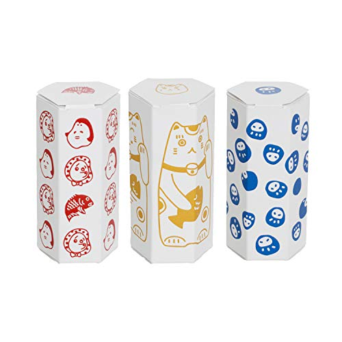 TRANPARAN ポチ袋 3柄セット お年玉袋 ポチみくじ おみくじ 日本製 (めでたいセット)