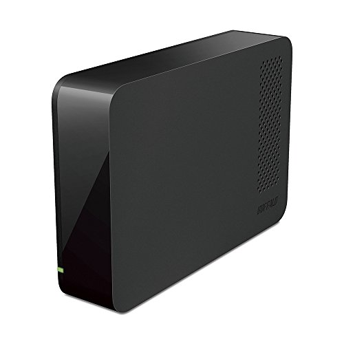 BUFFALO USB3.1(Gen1)/3.0/2.0対応 PC/家電対応 外付けHDD 3TB ブラック HD-LC3.0U3-BKF