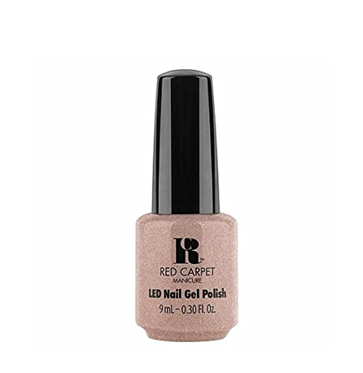 トロリーバス古い飲み込むRed Carpet Manicure LED Gel Polish - Suited For Me - 9 ml/0.30 oz