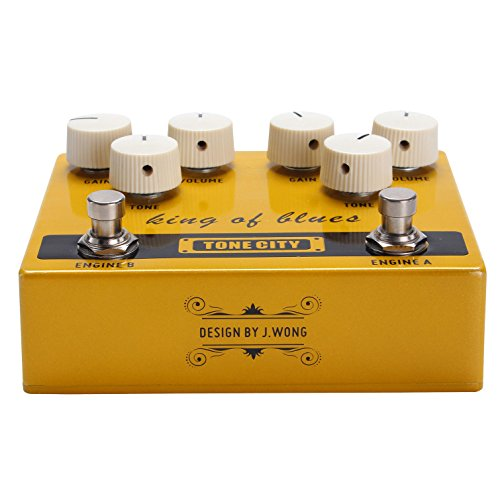 tone city king of blues overdrive effector from japan with tracking ebay. Black Bedroom Furniture Sets. Home Design Ideas