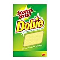 "Scotch-Brite Dobie All Purpose Cleaning Pad 720, 4.3"" Length x 2.6"" Width x 1/2"" Thick, (Case of 24) [並行輸入品]"