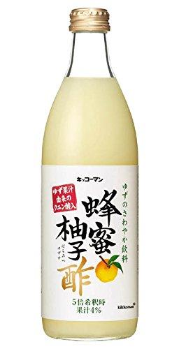 キッコーマン食品 蜂蜜柚子酢 500ml