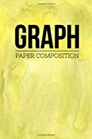 """Graph Paper Composition: Graph Paper 6"""" x 9"""" Quad Ruled 4x4,Grid Paper for school student,office,kids Notebooks"""