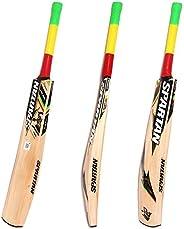 Spartan, Cricket, Boss Force Grade 3 English Willow Cricket Bat, Short Handle