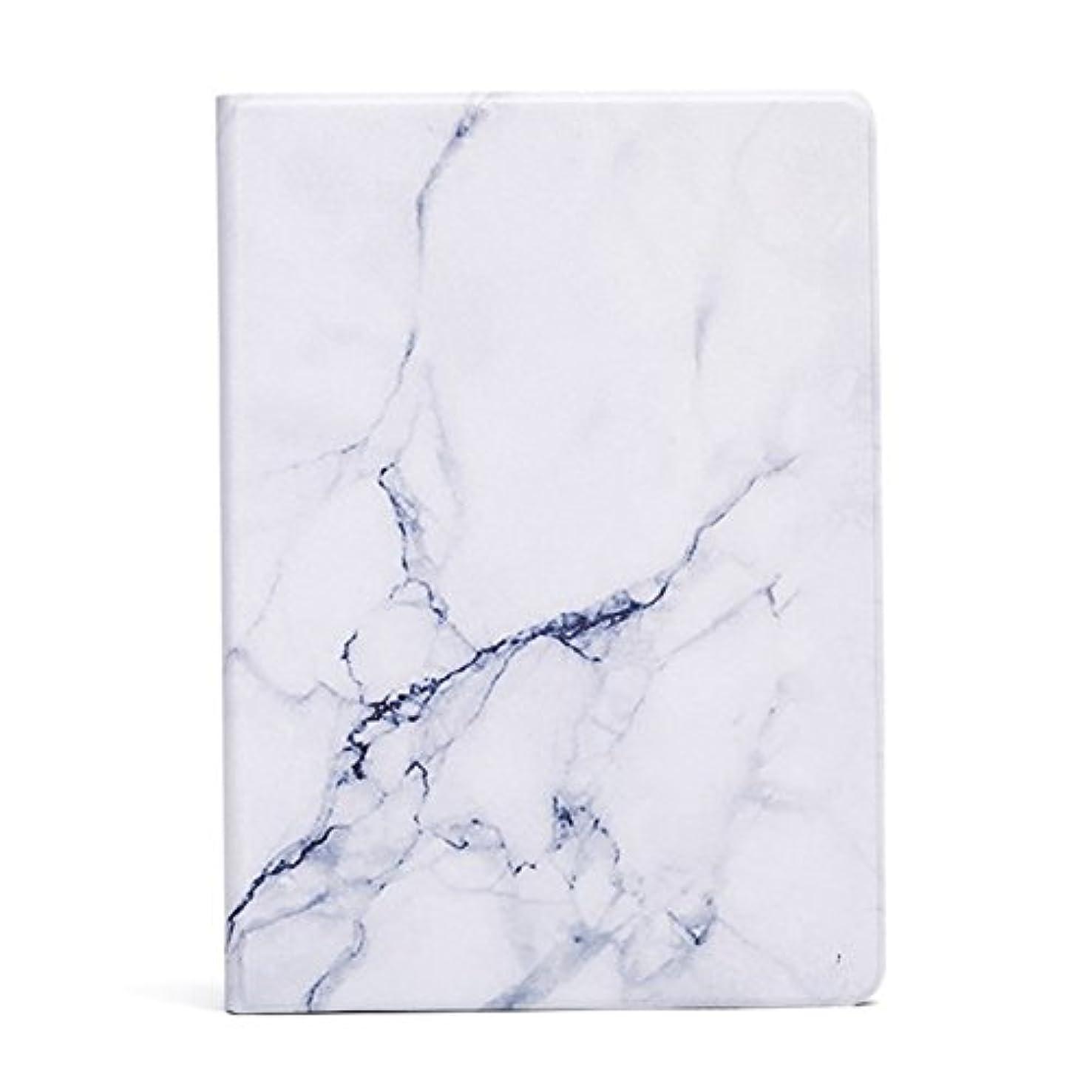 人工ファウルスポーツマンSpinas(スピナス) iPad カバー 大理石風 スタンド ケース カバー マーブル模様 iPad / 2017年9.7インチ / iPad mini/iPad Air 全2色(ブラック ホワイト)