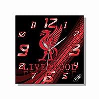 リヴァプール・フットボール・クラブ(Liverpool Football Club) 11.4''掛け時計あなたの友人やご家族のための最高のプレゼントです。プラスチック製