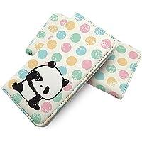 TORQUE G01 手帳型ケース パンダ 赤ちゃん 招きパンダ 幸福 torqueg01 動物 どうぶつ