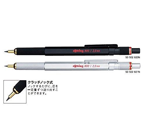 ロットリング800 芯ホルダー 2mm ブラック 502820N
