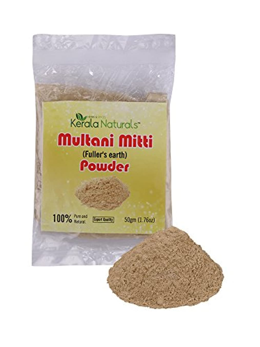 聡明区中国Multani Mitti Powder 200gm - Anti acne & Blemishes, Glowing Skin - Multani Mittiパウダー200gm-にきび&傷、輝く肌