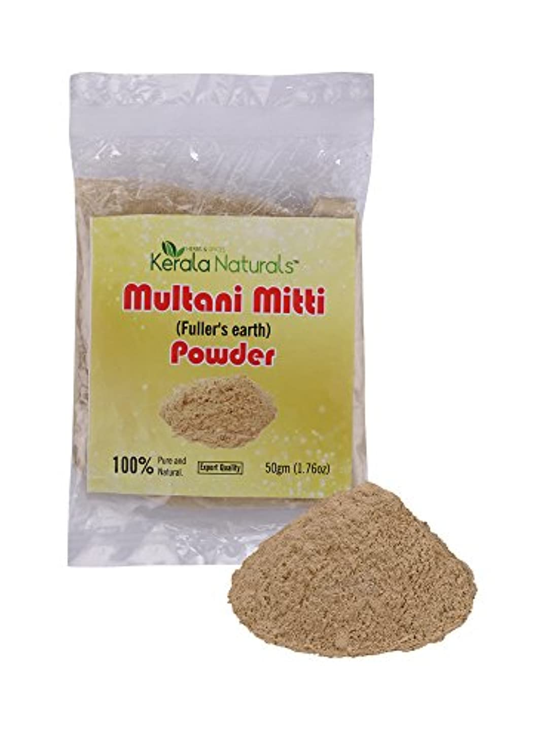 絞る味わう些細Multani Mitti Powder 200gm - Anti acne & Blemishes, Glowing Skin - Multani Mittiパウダー200gm-にきび&傷、輝く肌