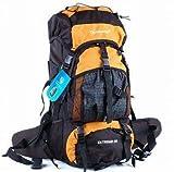 パタゴニア リュック 高容量 55L 登山パック イエローa0963