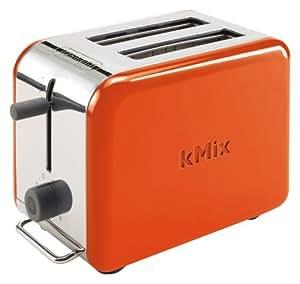 DeLonghi kMix(ケーミックス) ブティック ポップアップトースター オレンジ TTM020J-OR