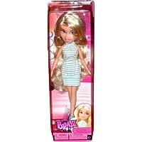 Bratz Cloe Doll in Blue & White Dress