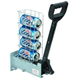 Pittsburgh 62951 Multi-Load 6 Aluminum Can Crusher Heavy Duty by HFT Silver