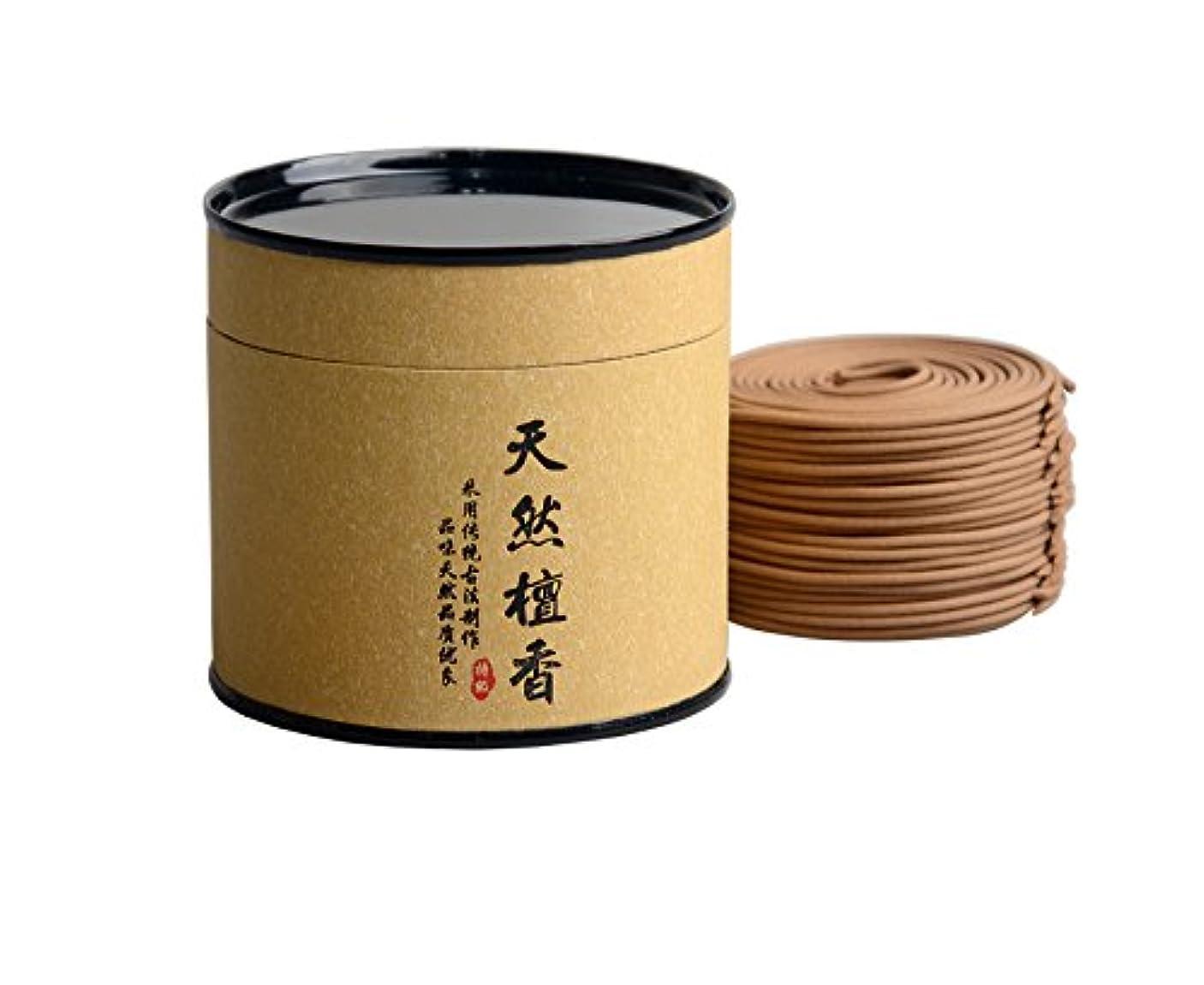 ブラシ清める伝統的Hwagui しぜん 手作り お香 ギフト 優しい香り 渦巻き線香 オーストラリア 白檀 (白檀-4時間)