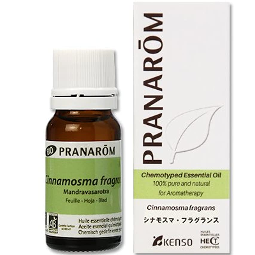 興味寸前主要な【シナモスマ?フラグランス 10ml】→優しいシネオール調の爽やかな香り?(リフレッシュハーブ系)[PRANAROM(プラナロム)精油/アロマオイル/エッセンシャルオイル]P-32