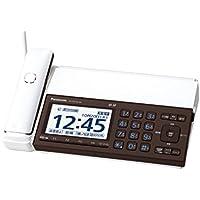 パナソニック デジタルコードレスFAX 親機のみ スマホ連動 Wi-Fi搭載 ピアノホワイト KX-PD102D-W