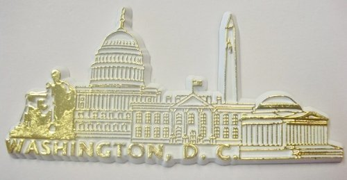 『Washington D.C. United States Fridge Magnet by Saddle Mountain Souvenir』のトップ画像