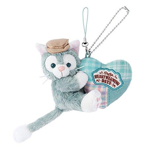 [해외]제라토니 인형 스트랩 더피의 하트 워밍 데이즈 2018 발렌타인 도쿄 디즈니 씨 한정/Gelatoni Plush Doll Strap Duffy`s Heart Warming Days 2018 Valentine Tokyo Disney Sea Limited