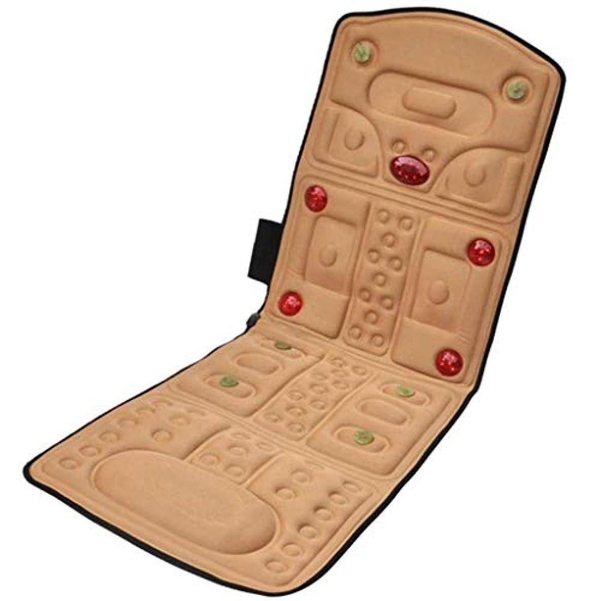 ベックス踏みつけ規模電気マッサージクッション、全身電気マッサージマットレス、折り畳み式の多機能振動加熱マッサージクッション、ホームオフィス車196 * 58 cmに適しています