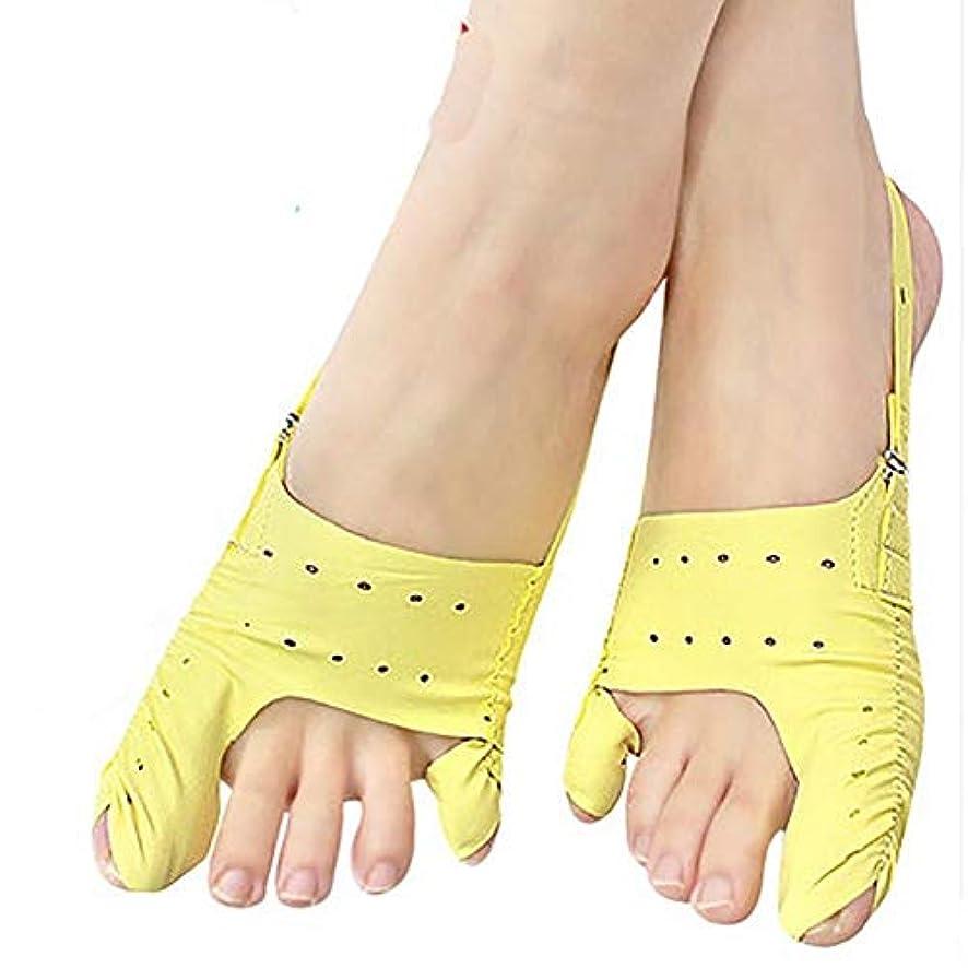 磁石激怒マリナー親指の外反足の骨の足のアライナーと大きな足と光と通気性の昼と夜 窓の外の小雨 (Size : L)