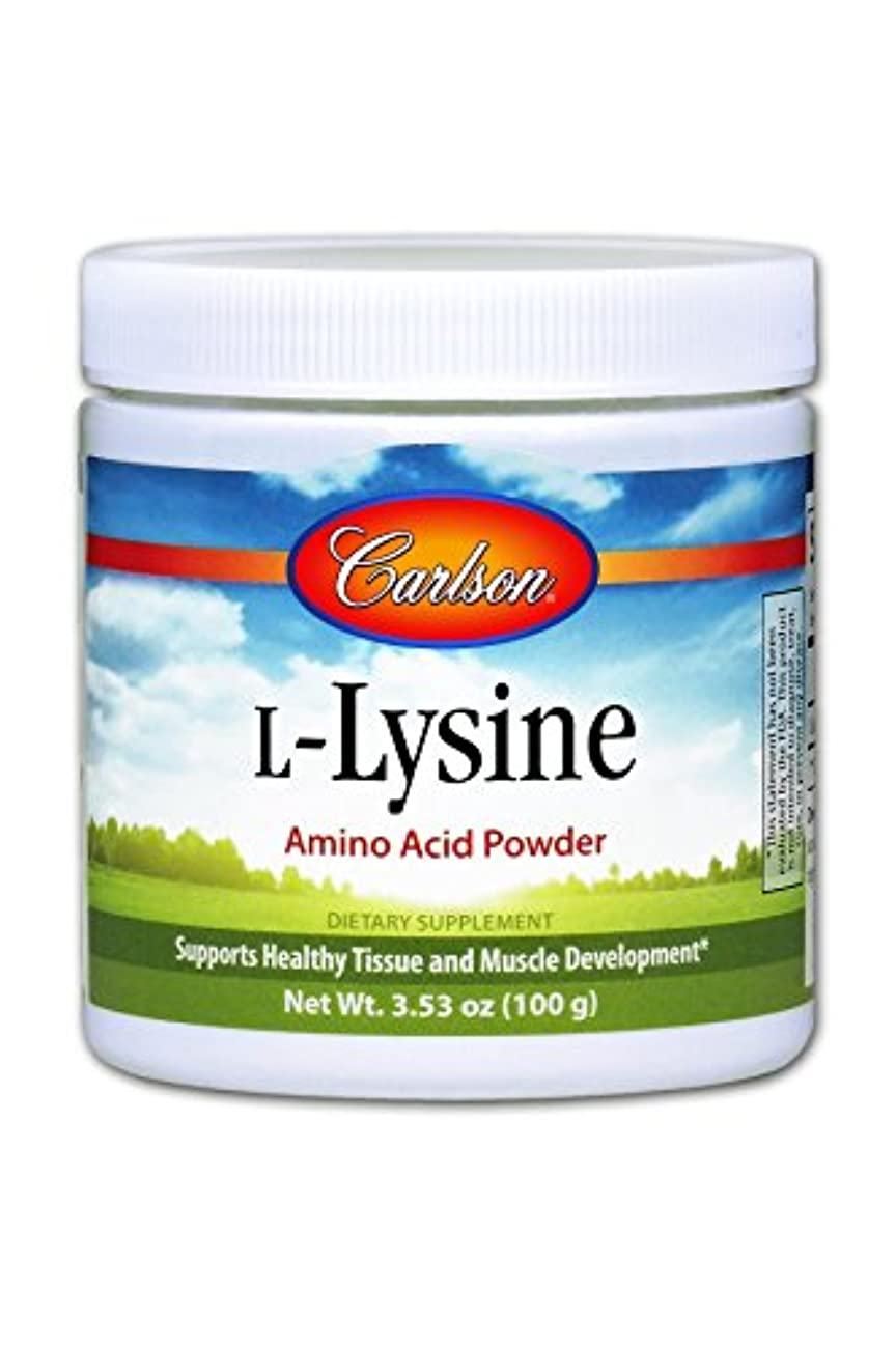 Carlson Labs, L-Lysine, Amino Acid Powder, 3.53 oz (100 g)